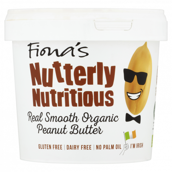1kg | Fiona's Nutterly Nutritious Real Smooth...