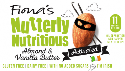 Fiona's Nutterly Nutritious Activated Almond & Vanilla Butter