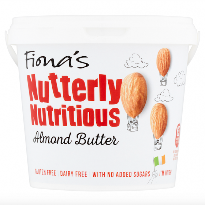 1kg | Fiona's Nutterly Nutritious Almond Butt...