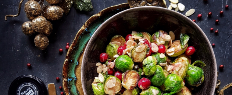 Fabulously Festive Brussel Sprouts